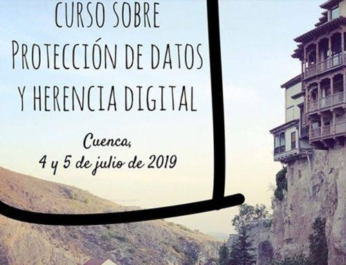 Curso sobre herencia digital y protección de datos
