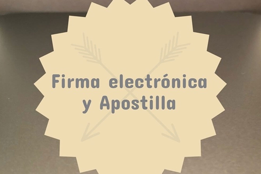 7 Apostilla y firma electrónica